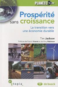 Prospérité sans croisssance